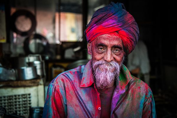 India Holi Festival Nikon School Travel Marco Carulli